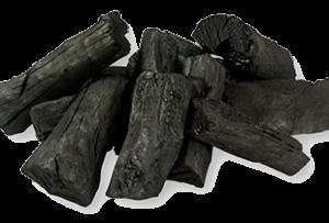 wood coal dust
