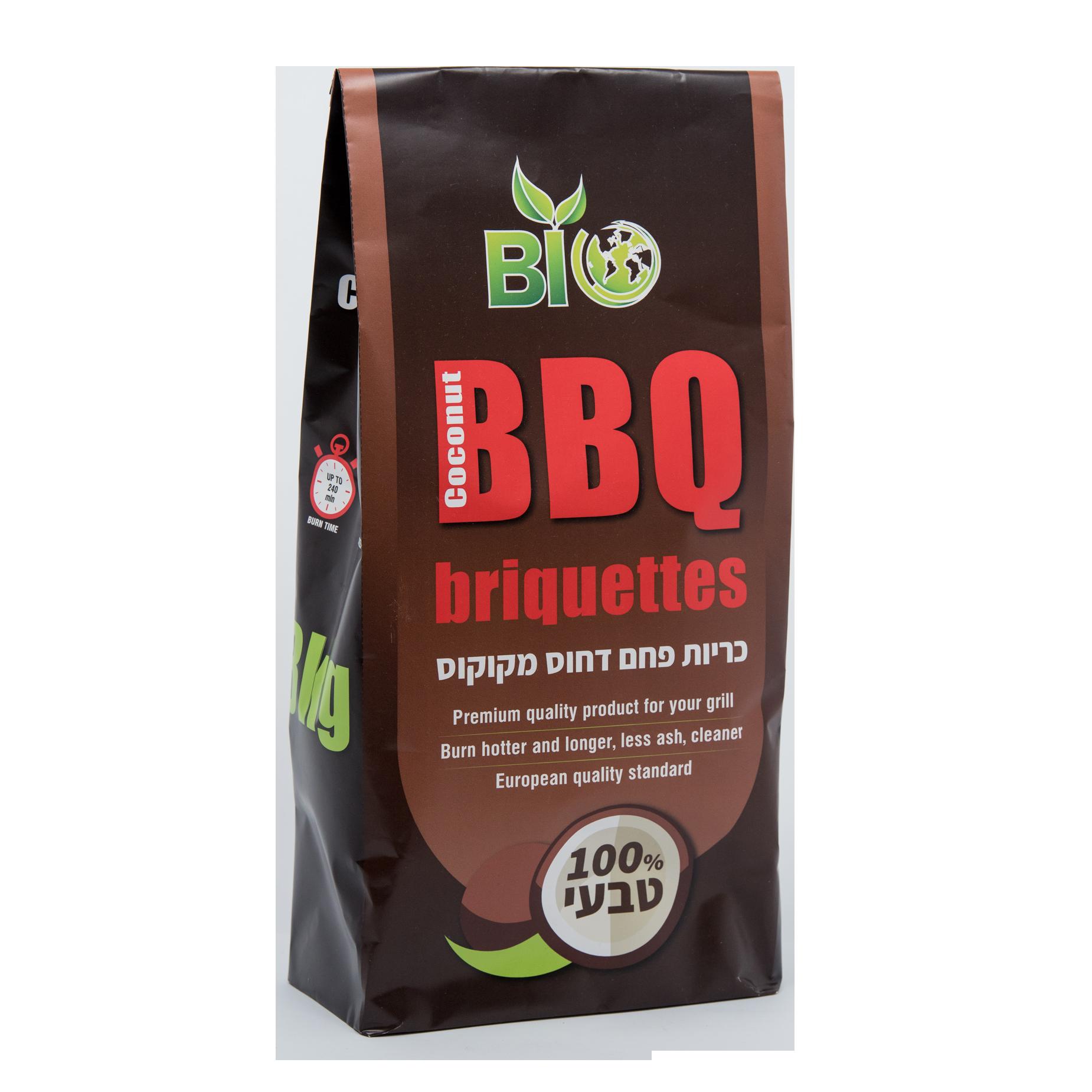 Coconut BBQ Briquettes